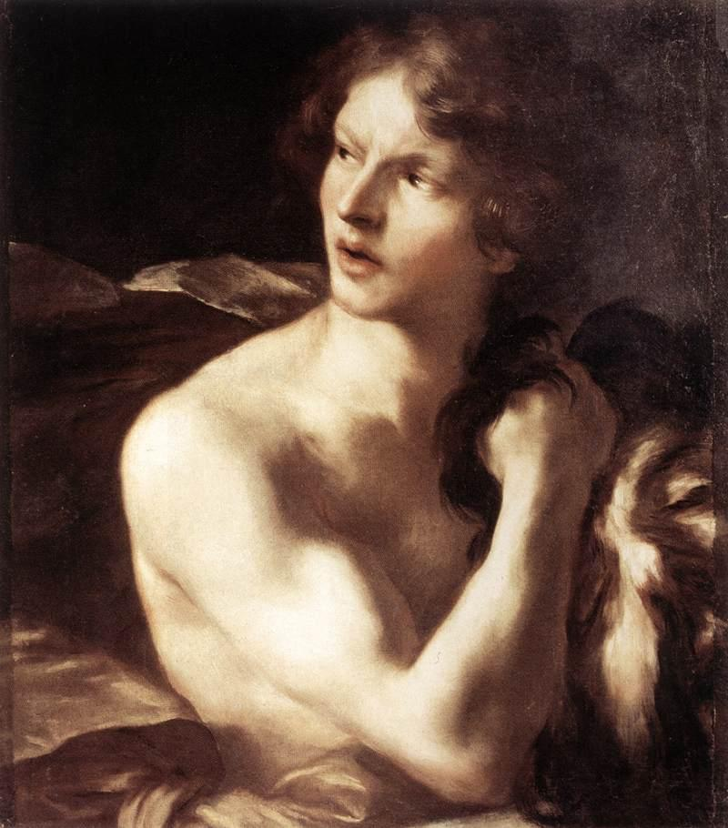 Bernini, David con la cabeza de Goliat, 1625. Galleria Nazionale d'Arte Antica, Roma.