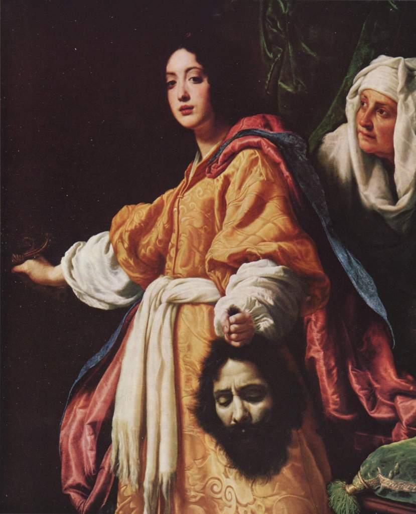 Cristofano Allori. Judith con la cabeza de Holofernes.1613. Colección Real. Reino Unido.
