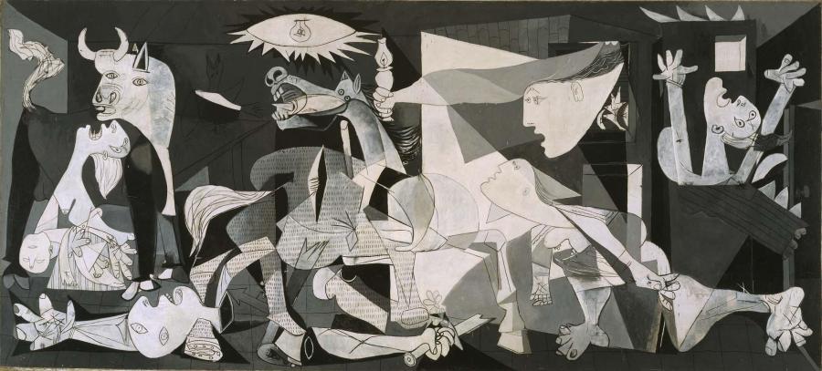 FOTO Pablo Picasso. Guernica. 1937. Museo Nacional Centro de Arte Reina Sofía