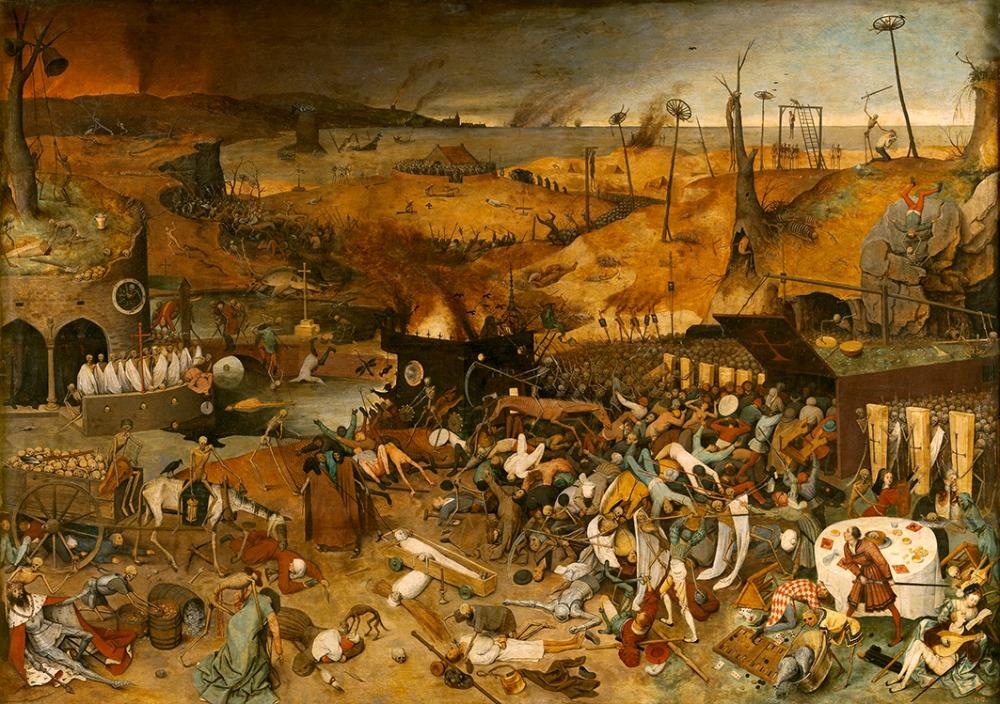 Pieter Brueghel el Viejo. El triunfo de la Muerte. 1562 – 1563. Museo Nacional del Prado.
