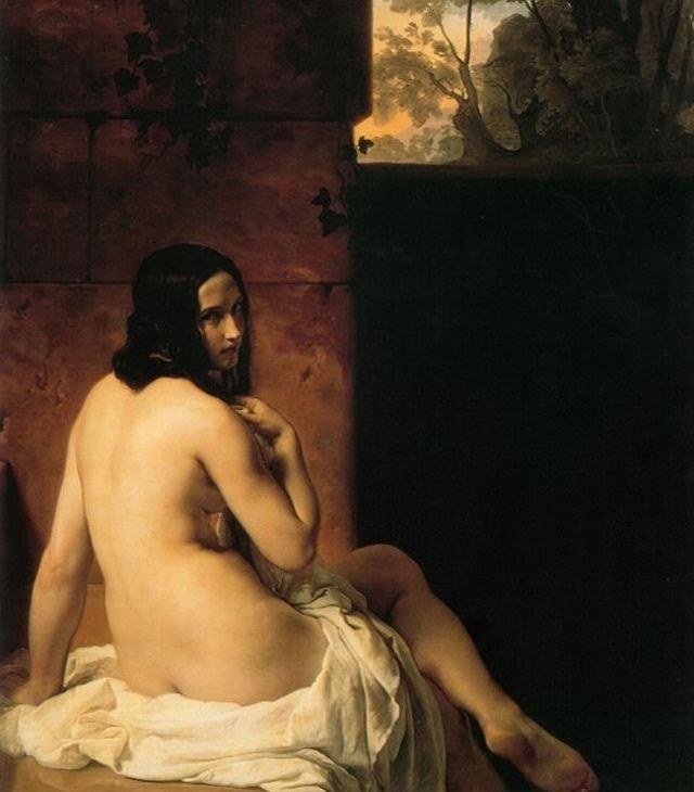 Francesco Hayez. El baño de Susana. 1850. National Gallery. Londres.
