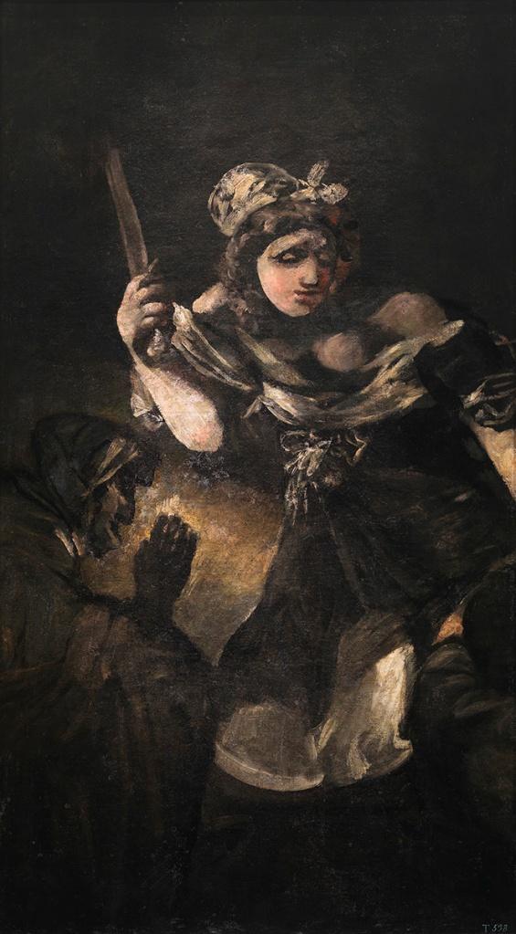 Francisco de Goya. Judit y Holofernes. Hacia 1819-1823. Museo del Prado.