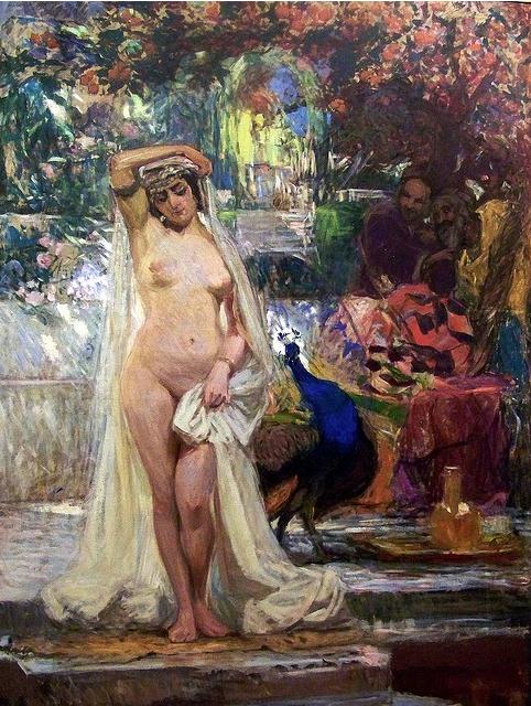 Gonzalo Bilbao. La casta Susana. Hacia 1914. Museo de Bellas Artes. Sevilla.