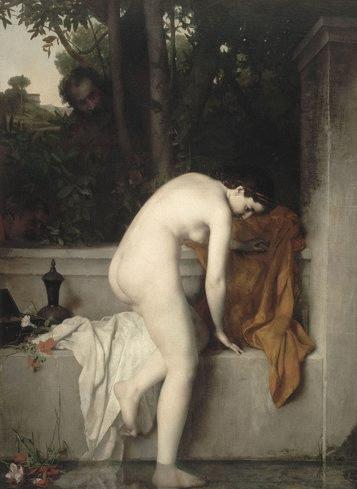 Jean-Jacques Henner. La casta Susana. 1864. Museo de Orsay. París.
