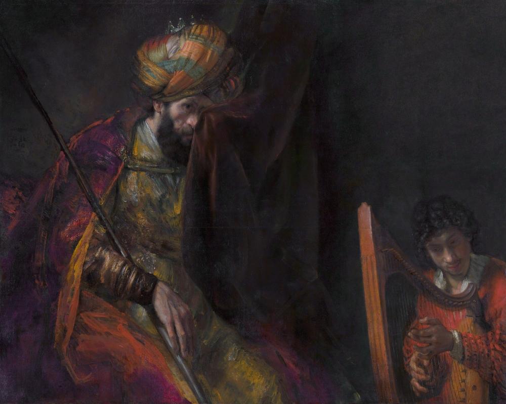 Rembrandt. Saúl y David. 1650-1655. Mauritshuis, La Haya