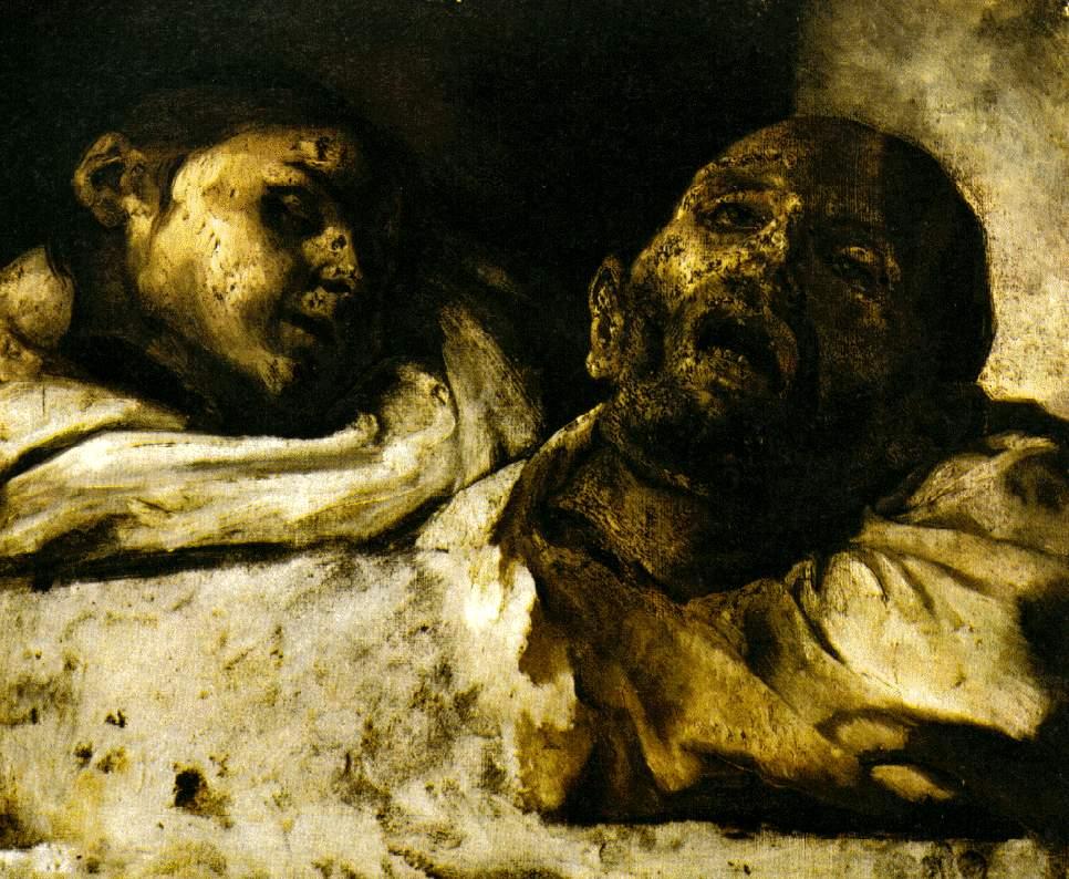 Théodore Géricault. Dos ejecutados. Museo Nacional de Estocolmo.