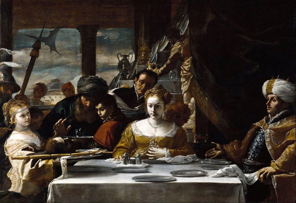 Mattia Preti. La fiesta de Herodes. Hacia 1660. Toledo Museum of Art.
