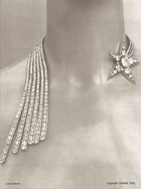 Chanel. Collar de brillantes. 1932.