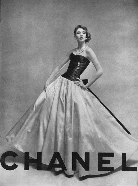 Chanel. Publicidad años 50.