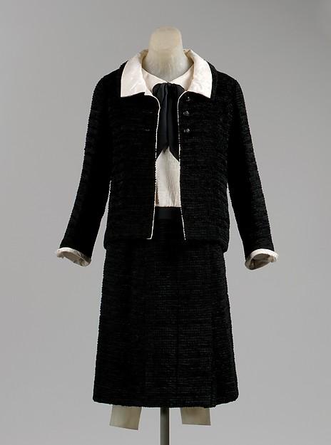 Chanel .Traje de cóctel. Hacia 1968. Metropolitan Museum. Nueva York