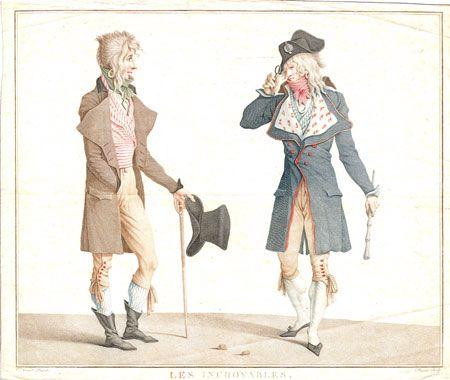 Charles Vernet sombrero de copa 1796