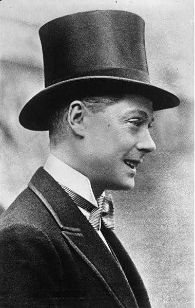 Eduardo de Inglaterra, príncipe de Gales. 1932.