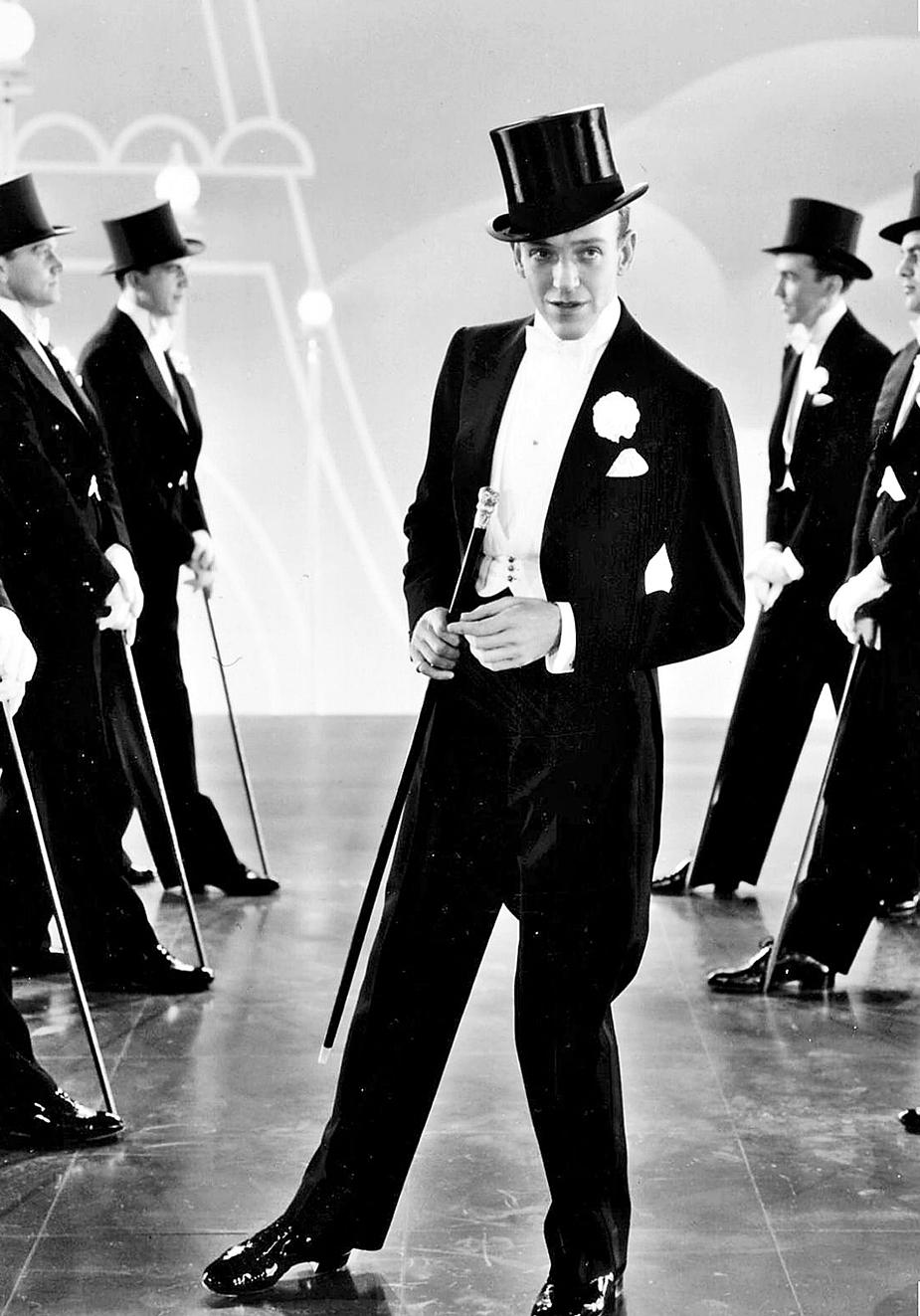 Fred Astaire. Sombrero de copa. 1935.