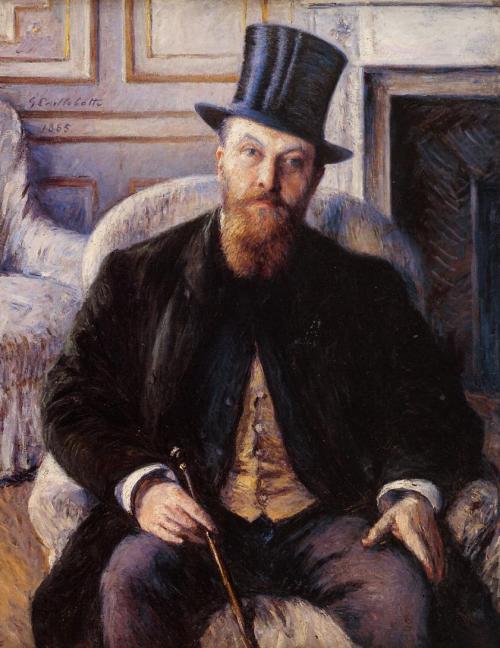 Gustave Caillebote. Retrato de Jules Dubois. 1885. Colección Particular.