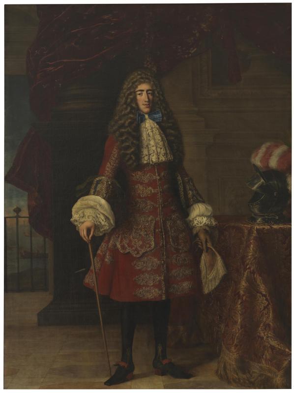 Jacob-Ferdinand Voet. Luis Francisco de la Cerda, IX duque de Medinaceli. Hacia 1684. Museo del Prado. Madrid.
