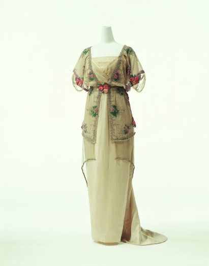 Paul Poiret. Vestido de noche. 1910-1911. Instituto de Indumentaria. Kyoto.