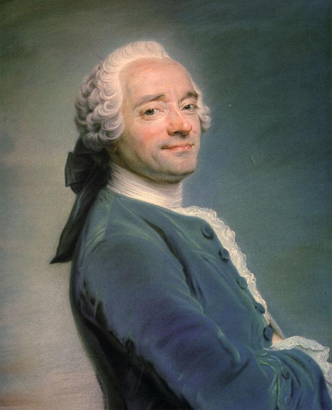 Maurice Quentin de La Tour. Autorretrato. Hacia 1750. Museo de Picardía.