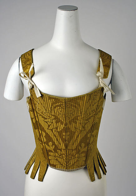 Cotilla. España. Principios siglo XVIII. Metropolitan Museum. Nueva York.