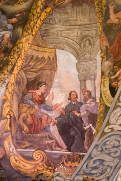 CULTURA /// Presentacion de la restauracion de los frescos de la Iglesia de San Nicolas en Valencia