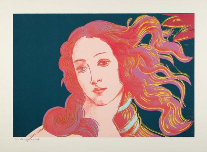 Andy Warhol. Venus verde. 1984.