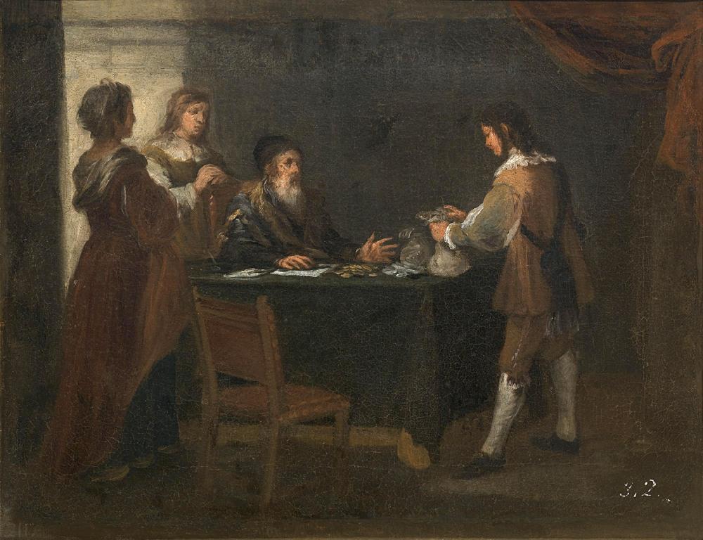 Bartolomé Esteban Murillo. El hijo pródigo recoge su legítima. 1660-1665. Museo del Prado. Madrid.