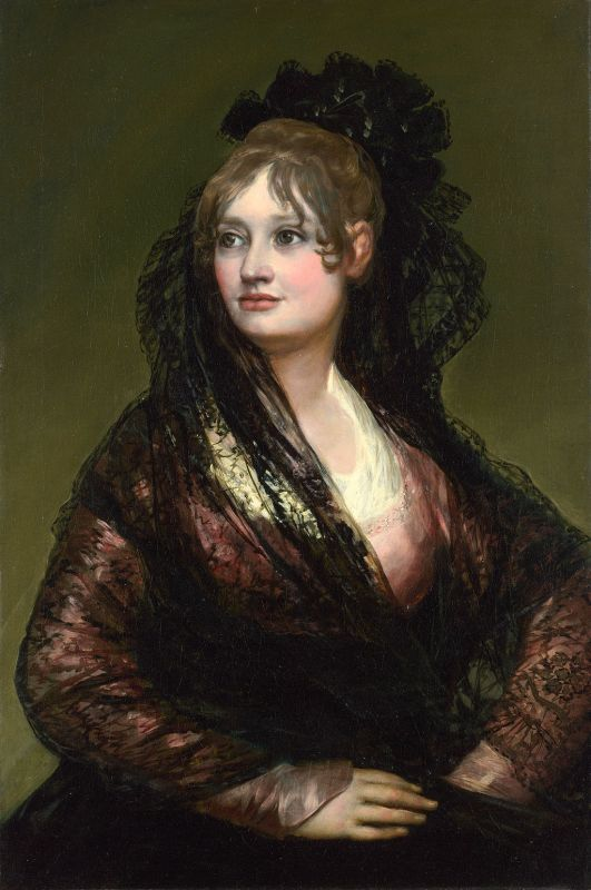 Francisco de Goya. Doña Isabel de Porcel. 1804-1805. National Gallery. Londres.