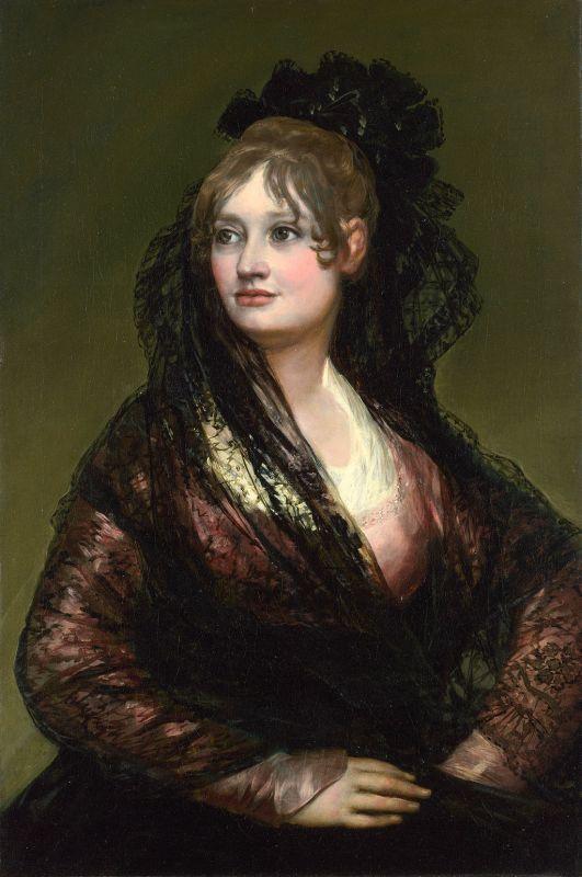 Francisco de Goya. Doña Isabel de Porcel. 1804-1805. National Gallery. Londres.