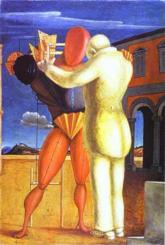 Giorgio de Chirico. El hijo pródigo. 1922. Museo de Arte Contemporáneo. Milán.