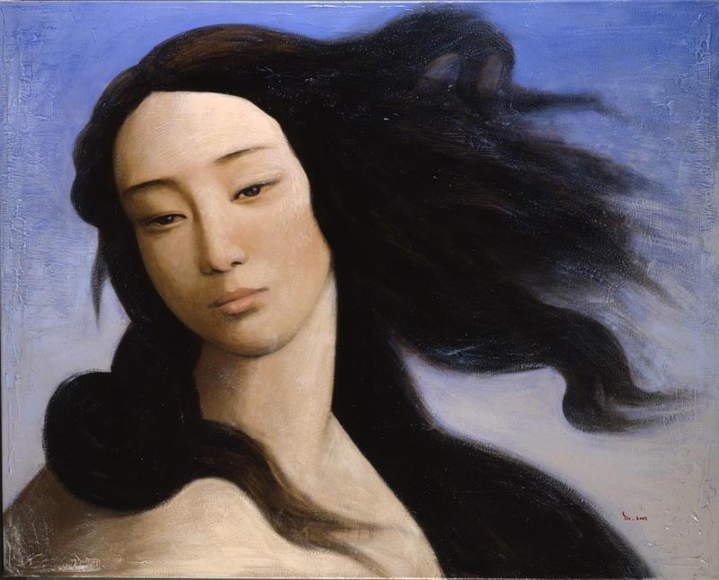 Yin Xin. Venus despúes de Botticelli. 2008.