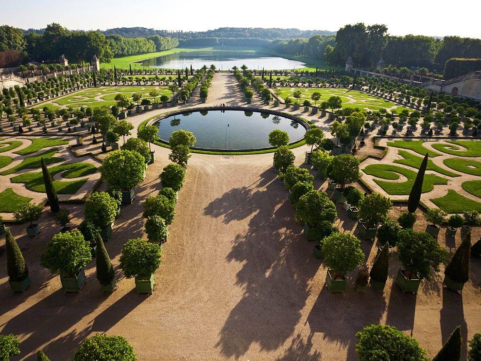 Jardines de Versalles.