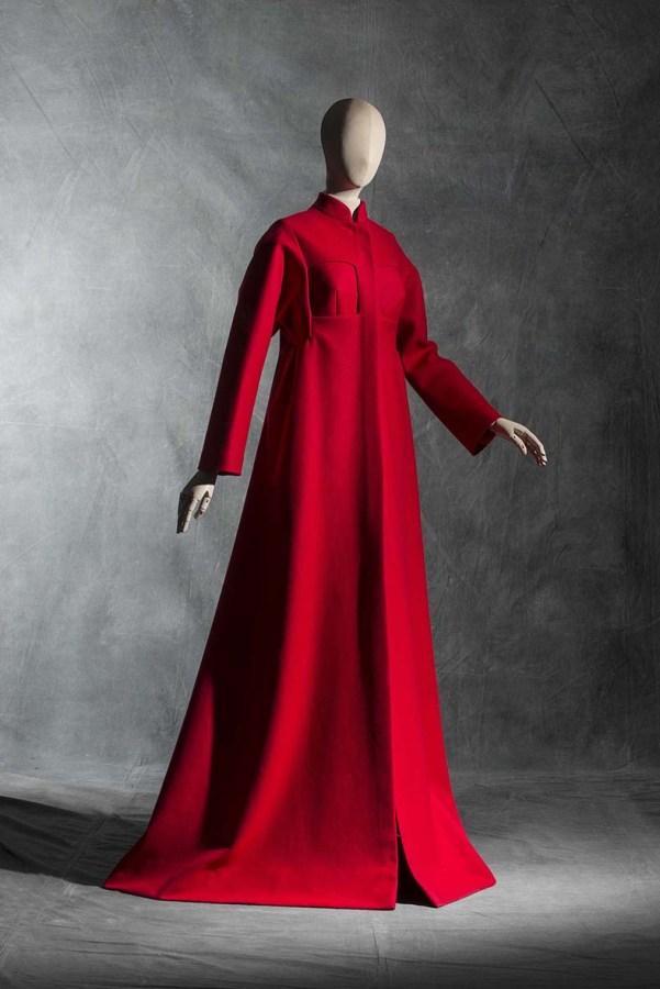 John Galliano para Maison Margiela. Vestido abrigo. Alta Costura, primavera-verano 2015. Lana.