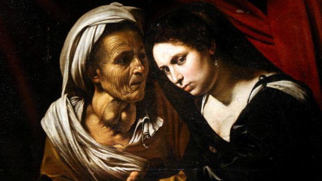 Judith y Holofernes (detalle). Colección particular.