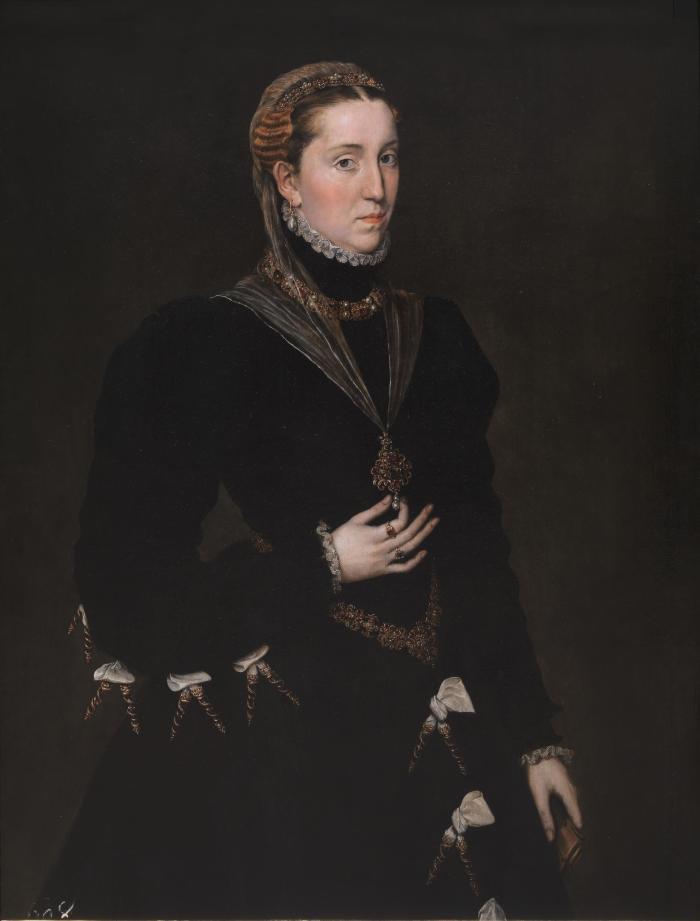 Antonio Moro. Dama del joyel. Hacia 1552. Museo del Prado. Madrid.