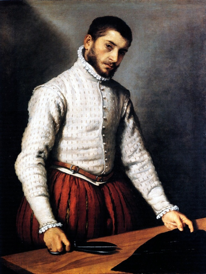 Giovanni Battista Moroni. El sastre. 1570-1575. National Gallery. Londres.