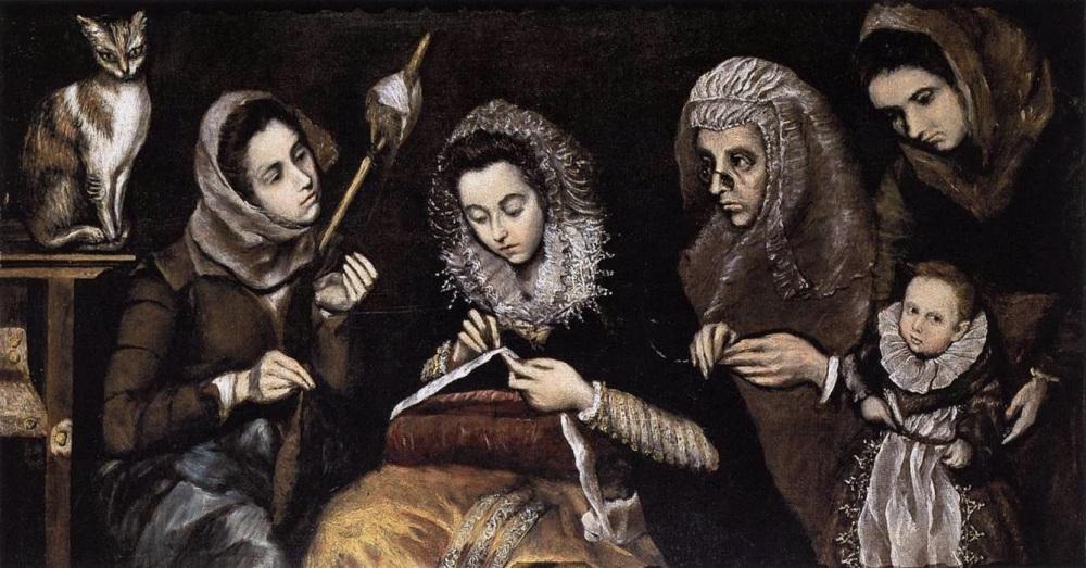 Jorge Manuel Theotocópulos. La familia de El Greco. Hacia 1605. Museo de la Real Academia de Bellas Artes de San Fernando. Madrid.