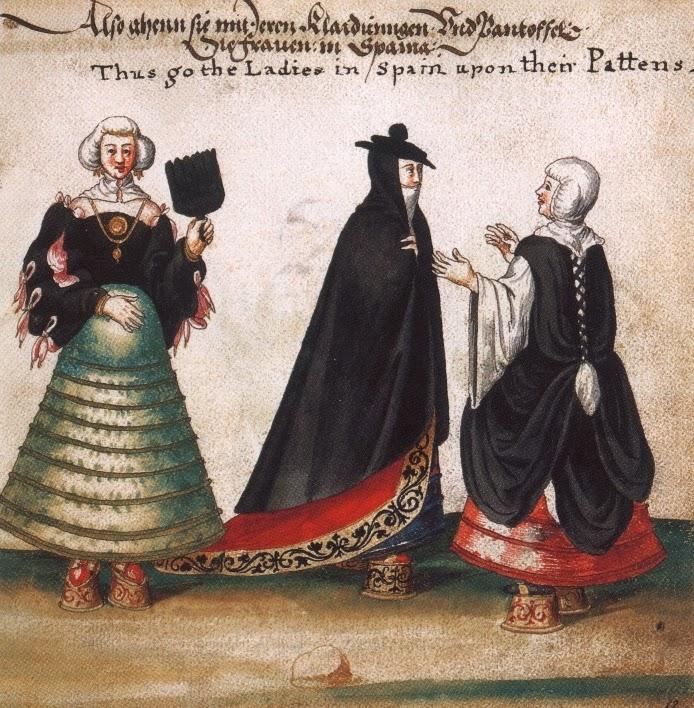 Jan Cornelisz Vermeyen. Mujeres españolas. 1540. Museo Stibbert, Florencia, Italia.