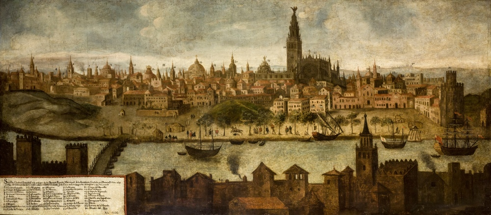 Anónimo. Vista de Sevilla. 1726. Ayuntamiento de Sevilla