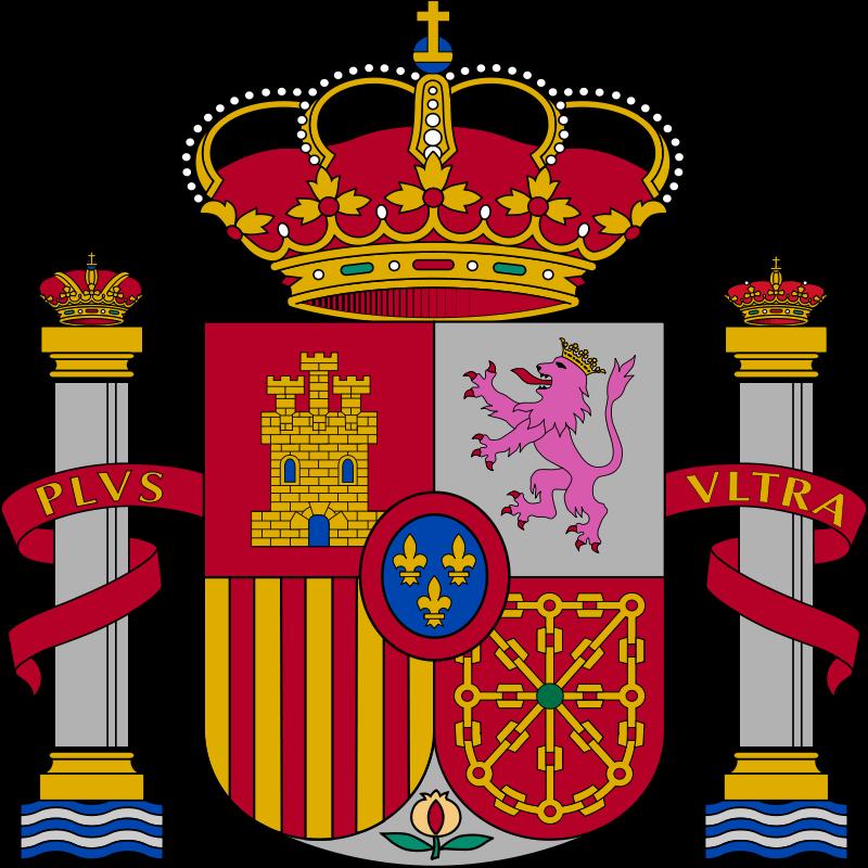 Escudo del Reino de España.