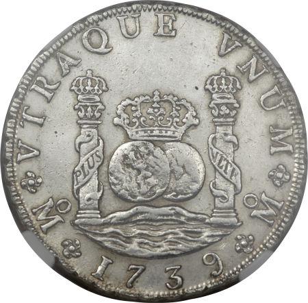 Real de a ocho.1739.