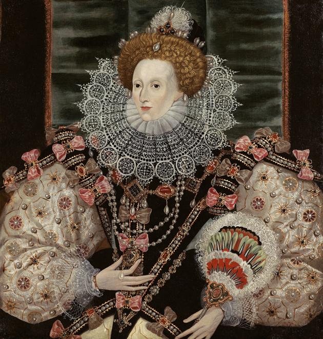 Anónimo. Retrato de la reina Isabel I. Hacia 1600. Colección particular.