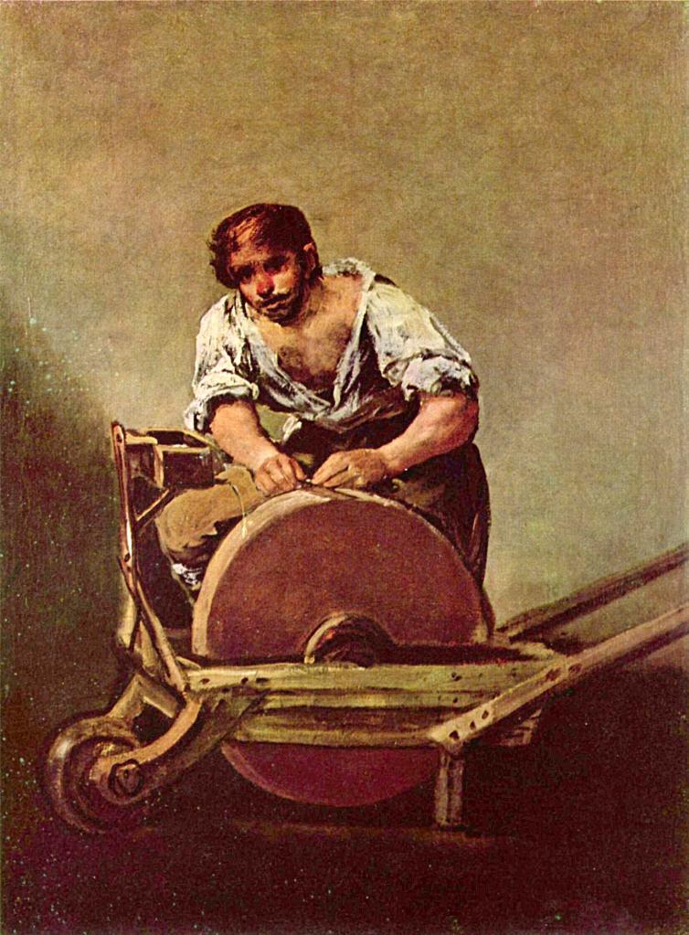 Francisco de Goya. El afilador. Hacia 1790. Colección Esterházy.