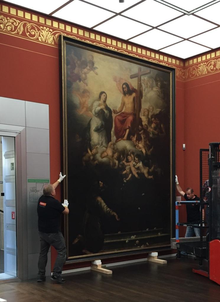 Bartolomé Esteban Murillo. Jubileo de la porciúncula. Museo Wallraf-Richartz. Colonia.
