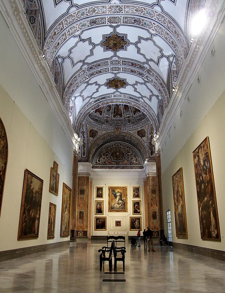 Retablo Mayor de la Iglesia del Convento de los Capuchinos. Museo de Bellas. Sevilla.