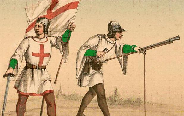 Soldados de la Santa Hermandad.