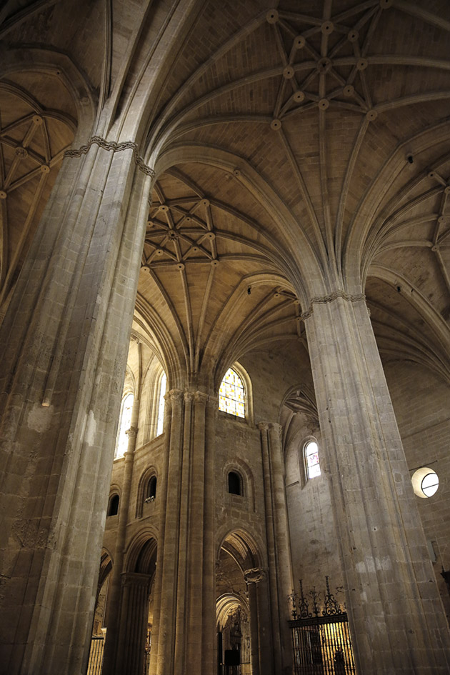 Interior de la Catedral.