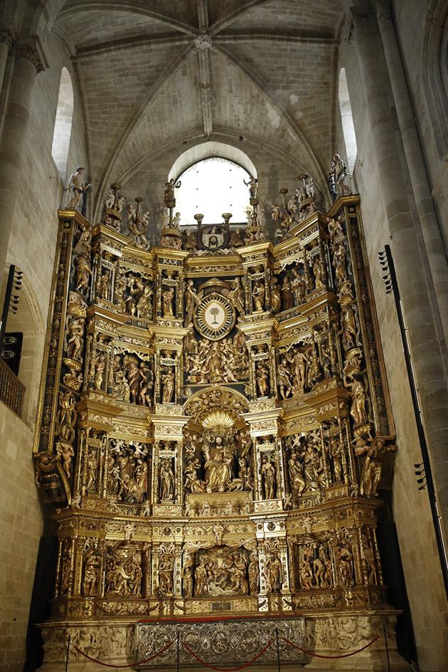 Retablo de la Catedral. Damian Forment. Contratado en 1537.