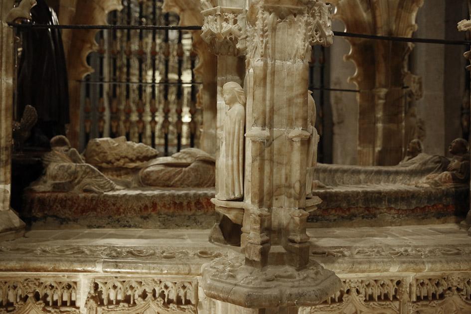 Figura yacente de Santo Domingo de la Calzada.Primer tercio del siglo XII. Catedral de Santo Domingo de la Calzada. La Rioja.