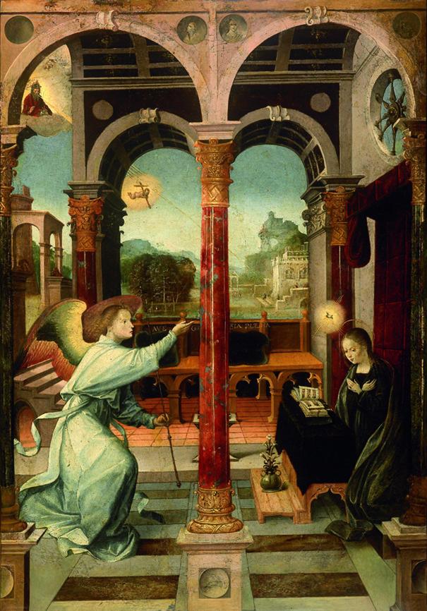 Alejo Fernández. Anunciación. 1508.