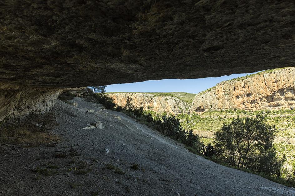 Cueva del Gollizno.