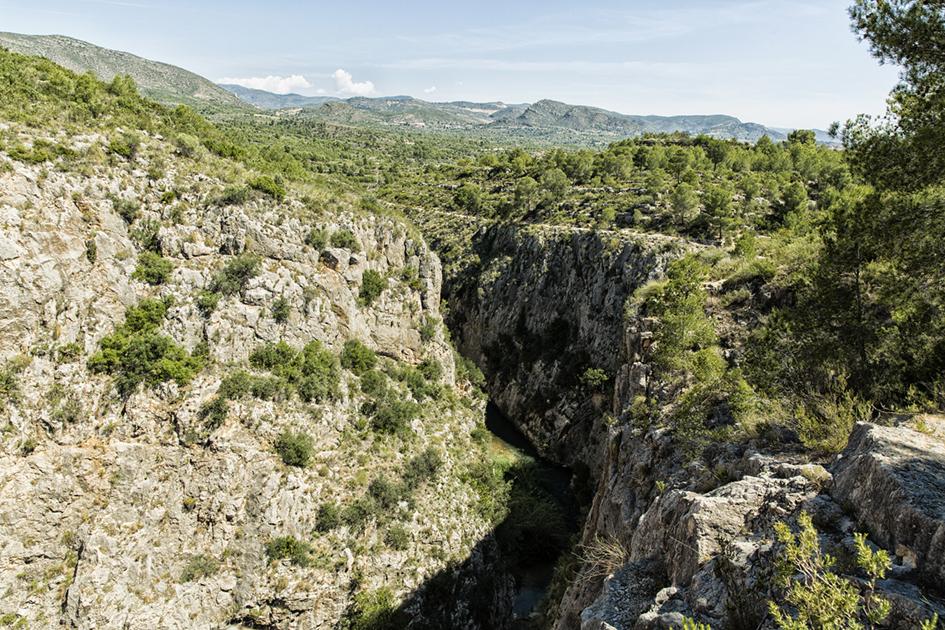 Cañón de rio Turia